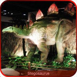 Exposição de dinossauros Animatronic Stegosaurus robóticos