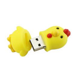 Цыпленок флэш-накопитель USB Memory Stick животных мультфильмов устройство хранения пера диск 4G8G16g 32g