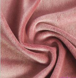Tejido de terciopelo tejido de algodón de bambú