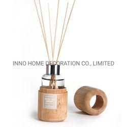 Madera creativo difusor de aroma, el logotipo personalizado100ml de aceite con fragancia para la decoración del hogar