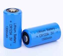 Batterie Li-ion CR123A 1500mAh 1300mAh 3V A123