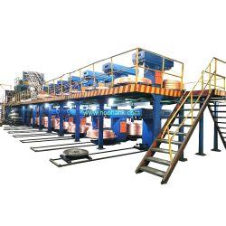 Linea di produzione per colata continua verso l'alto 8-20mm macchina per la produzione di aste di rame