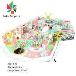 Stuoia del gioco del bambino di Colorfulpark molle per i capretti, blocchetti molli del gioco, campo giochi morbido dell'interno