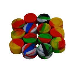 3ml 5ml 7ml de Kleurrijke Volledige FDA Containers van de Was van het Silicone van de Rang