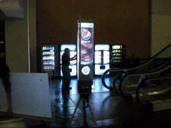 EL di EL elettroluminescente Lightbox del pannello che fa pubblicità al segno