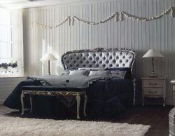 Amber blu Classic Solid Wood Bed per la camera da letto Furniture e Interior Design