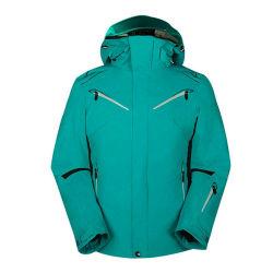 I rivestimenti di pattino degli uomini scaldano il cappotto di inverno respirabile per gli sport di corsa con gli sci