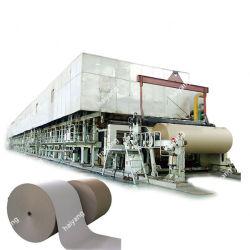 Из гофрированного картона/крафт-бумаги/туалетной бумаги и бумаги Testliner/Fluting бумаги / бумага из макулатуры бумагоделательной машины