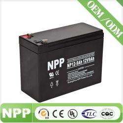 12V9ah герметичный свинцово-кислотный аккумулятор батарея типа VRLA AGM аккумулятор NP12-9ah для ИБП аккумулятор Перезаряжаемый аккумулятор