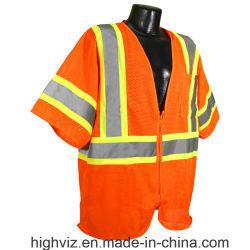 Overhemd van het T-stuk van het Werk van het Vest van de Veiligheid van de Kledingstukken van de veiligheid het Weerspiegelende
