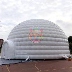 200 personnes Capacité parti tente dôme gonflable blanc 15m