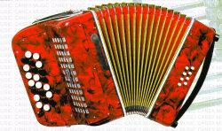 Tastatur-Tastatur-Akkordeon-Akkordeon (CA1600)