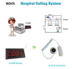 Paciente do Hospital Chamada botão de pânico sem fios do Sistema Auxiliar