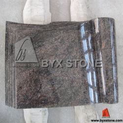 European Styleの多色刷りのBook Design Monument/Headstone
