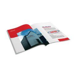 كتيب Softcover A4 A5 عالي الجودة للطباعة بالألوان