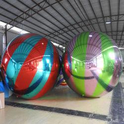 aerostato gonfiabile dello specchio dei giocattoli variopinti di 2m per la decorazione di evento