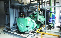 Heiz- und Stromversorgungseinheit für kombinierte Kühlung