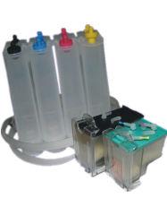Sistema de tinta CISS CEI recargables HP95/96/97/74/75/343/344/853/855/857/351/960/861 Cartucho de tinta, con Transprant cuerpo y el nuevo cabezal de impresión original