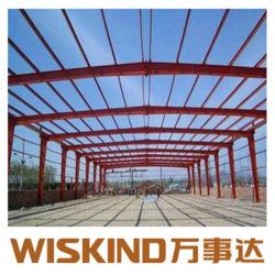 Multi-Span H-préfabriqués Section Structure légère en acier de l'entrepôt de la Fabrication en acier