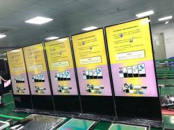 Promoción de la mayorista interiores panel LCD ultra delgada pantalla digital de la publicidad comercial visualización de vídeo de 43 a 65 pulg.