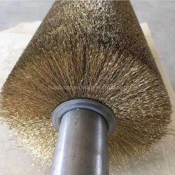 Spazzola a rullo industriale in acciaio al rame