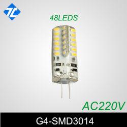 AC220V SMD3014 48LEDs IP65 Silicon G4 Light
