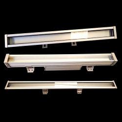 Светодиод со легкий алюминиевый профиль промойте корпус лампы на стене/ Стеклянная светодиодный алюминиевый профиль