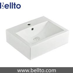 Salle de bain en céramique se laver les puits pour salle de bain haut de la vanité (3323)