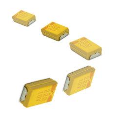 SMD, RoHS condensateurs au tantale solides, Chip condensateur condensateurs au tantale Tmct02