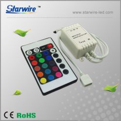 24-Key Infrared RGB LED Controller 12V/24V