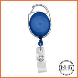 شارة مشعار زرقاء شفافة مع شريط فينيل