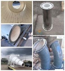 Износ Resitant гильзы от циклона, трубы, откидной панели двери задка, промышленных глинозема керамические внутренней панели боковины