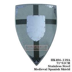 Escudos medievais enforcamentos na Parede 74*47cm HK404-118UM/HK404-118b