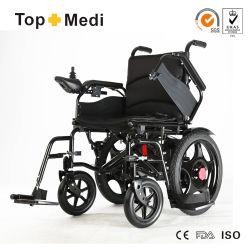 L'équipement médical de pliage des prix en fauteuil roulant électrique pour les personnes handicapées