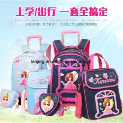 Bw1-115 Preço inferior à mochila mais barato escola em couro sintético Saco de ombro