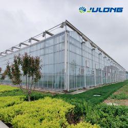 Comercial Venta caliente la sombra de efecto invernadero de cristal de la casa verde de las plantas o flores y verdura