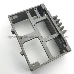 pieza de estampado de acero inoxidable aluminio Embutición parte marco exterior de caja de pulido que cubre partes
