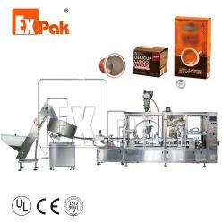 Capsula della tazza del K e del caffè di Nespresso che fa il macchinario di riempimento di sigillamento