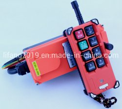 Mando a distancia de la industria inalámbrica Transmisor de 1 + 1 receptor F21-E1b; mando a distancia de la grúa Industrial F21-E1B; F21-E1b Tipo mando a distancia