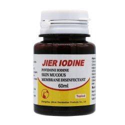 Desinfecterende Vloeistof van het Slijmvlies van de Huid van de Jodium van Jier de Antiseptische