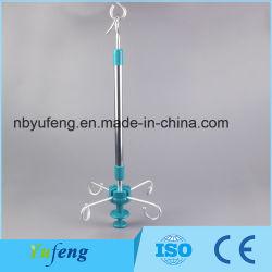 Fabricante profesional Yf-Dg cama clínica polo IV de la rampa de cortina