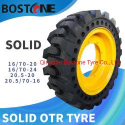 산업 OTR 타이어 포크리프트 타이어 변죽 16/70-20 16/70-24를 가진 단단한 로더 타이어
