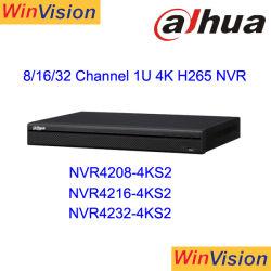Dahau NVR4208-4ks2 4K H. 265 통신망 비디오 녹화기 DVR NVR