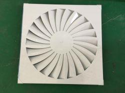 Потолочный диффузор для круглых или прямоугольных воздуховодов