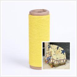黄色いヤーンのカウントNe6か毛布のためのNe8によってPoleyster再生される綿および65/35か50/50ヤーン