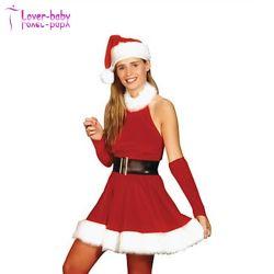 Noël à la mode Womens Mme santa claus costume adulte