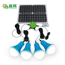 格子によって25W 30Wはリモート・コントロールの太陽エネルギーシステムライトキットが家へ帰る