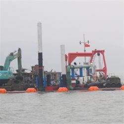 Cortador de sucção hidráulica Draga/máquina de limpeza de areia do rio/Areia Barco de escavação para venda