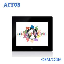 Tragbarer Spiegel Aiyos IPS digitaler Rahmen mit interner Batterie