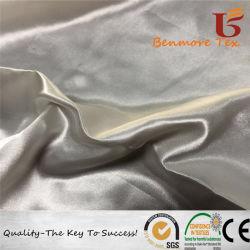 100%RPET Satin pour vêtement/Robe de satin tissu recyclé avec écologique